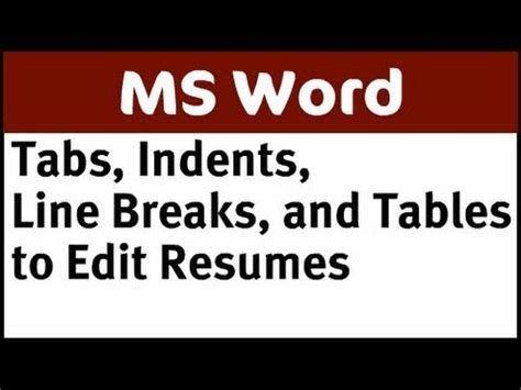 Appropriate margin for a resume